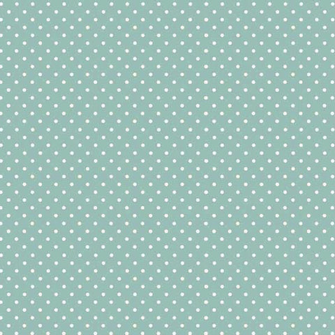 FQ0167a Spot On TURQUOISE - Makower UK