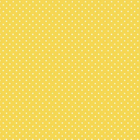 FQ0759 Gingham YELLOW - Basics - Makower UK