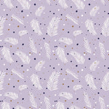 The 'Forest Talk PURPLE and GREEN' Fat Quarter Bundle - Cathy Nordstrom - Andover