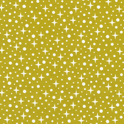 FQ0214 Honeycomb Dot LIME - Riley Blake Designs
