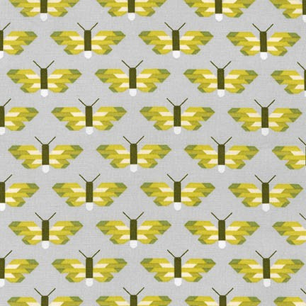 The 'Elizabeth Hartman YELLOW and GREEN' Fat Quarter Bundle - Robert Kaufman