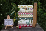 The 'Ashley' Fat Quarter Bundle - Postcards For Santa - Riley Blake Designs