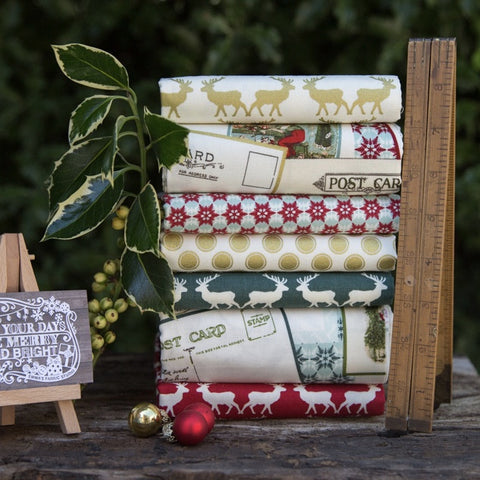 The 'Jenny' Fat Quarter Bundle - Silent Night - Makower