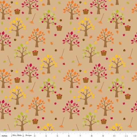 FQ0083 Happy Harvest - Doodlebug Designs - Riley Blake