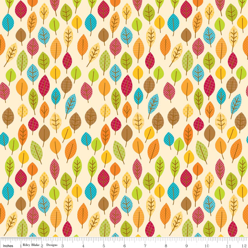 FQ0080 Happy Harvest - Doodlebug Designs - Riley Blake