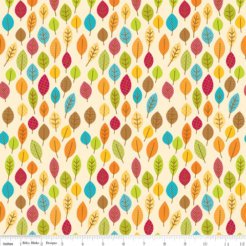 FQ0079 Happy Harvest - Doodlebug Designs - Riley Blake