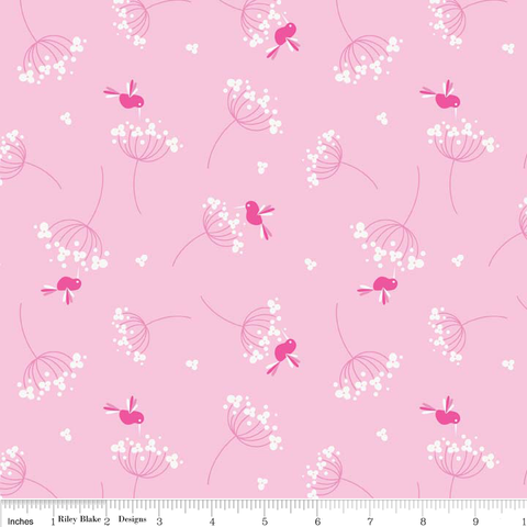 FQ0037 Woodland Spring - Designs By Dani - Riley Blake Designs