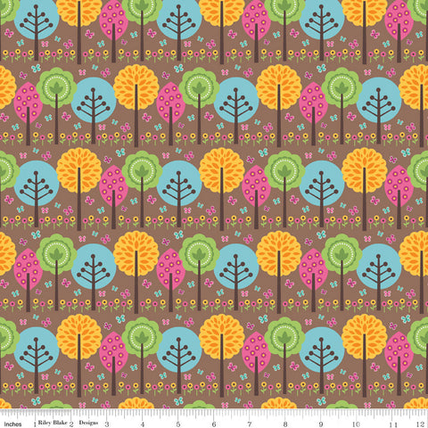 FQ0033 Woodland Spring - Designs By Dani - Riley Blake Designs