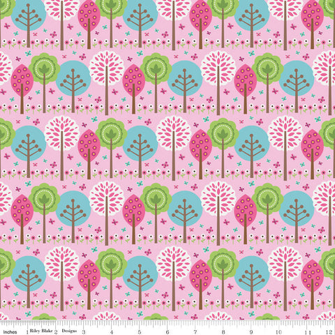 FQ0034 Woodland Spring - Designs By Dani - Riley Blake Designs