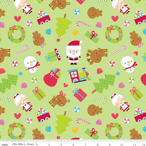 FQ0446 Santa's Workshop – Doodlebug Designs – Riley Blake