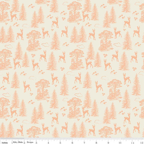 FQ1062 Linen Texture P3 ROSE - Makower UK