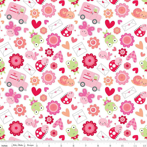 FQ0494 Lovebugs - Doodlebug - Riley Blake Designs