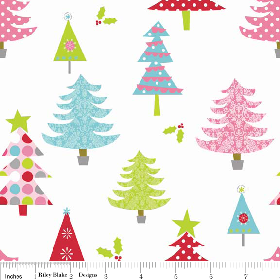 FQ0648 Christmas Basics - Riley Blake Designs