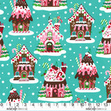FQ0554 Gingerbread Houses – Michael Miller
