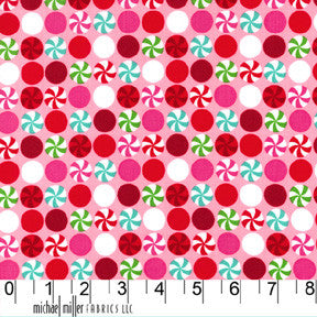 FQ0211 Honeycomb Dot RED - Riley Blake Designs