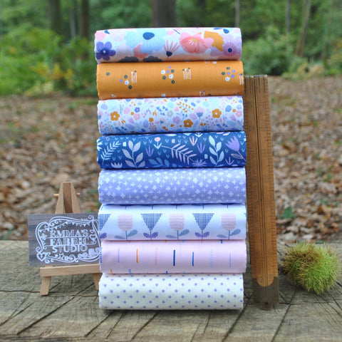 The 'Jan' Fat Quarter Bundle - Flo's Garden - Makower