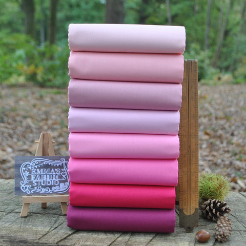The 'Purple' Fat Quarter Bundle - Spectrum Solids - Makower