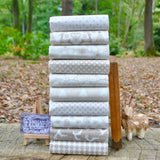 The 'Scandi Christmas 4 CREAM' Fat Quarter Bundle - Makower