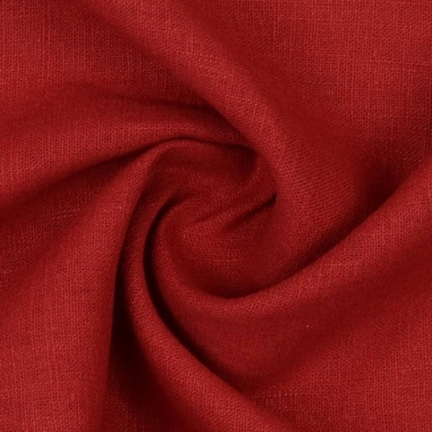 Linen Essentials - Ruby Red