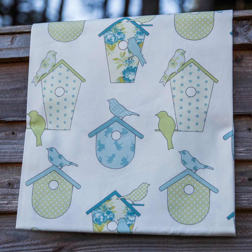 Ashley Wilde Thornbury Birdboxes SPRING Fabric