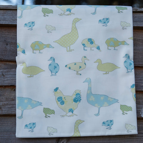 Ashley Wilde Thornbury Tabitha SORBET Hen Fabric