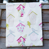 Ashley Wilde Thornbury Birdboxes SORBET Fabric