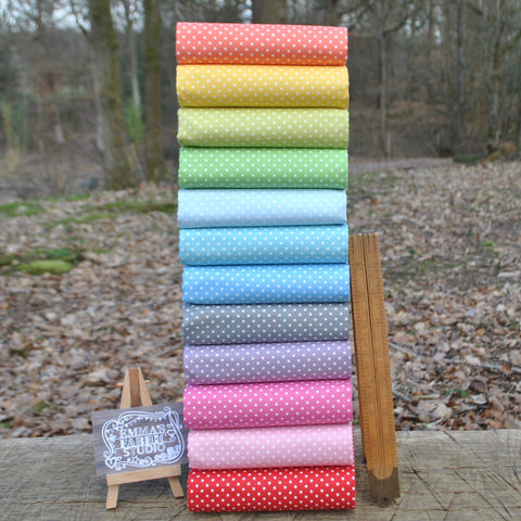The 'Samantha' Fat Quarter Bundle - Kitty - Makower UK