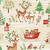 FQ0890 Traditional Christmas - Makower UK