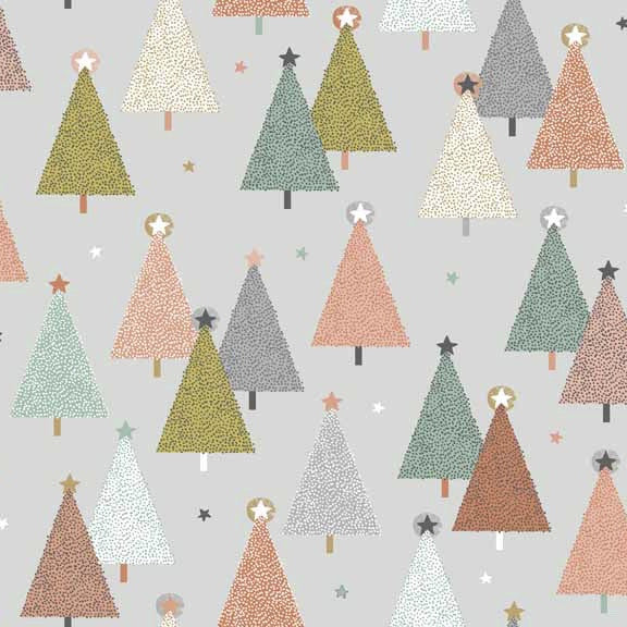 FQ0924 Modern Metallic Christmas - Makower UK