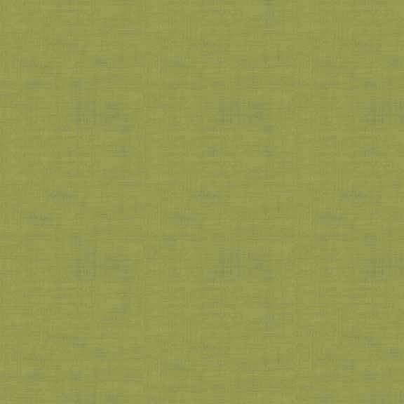 FQ1075 Linen Texture G6 MOSS GREEN - Makower UK