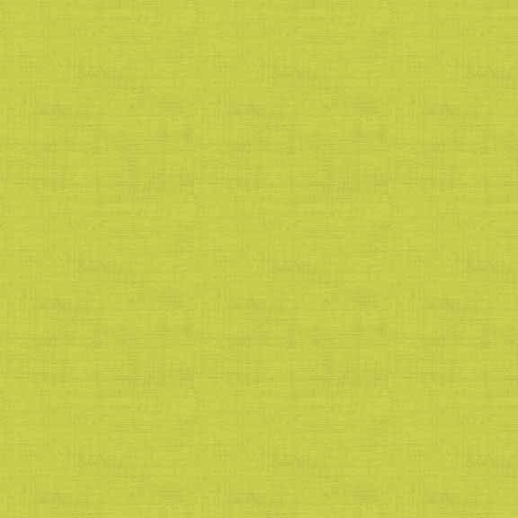 FQ1072 Linen Texture G1 LIME - Makower UK