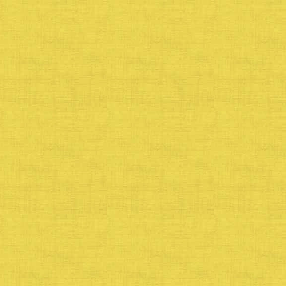 FQ1071 Linen Texture Y4 YELLOW - Makower UK