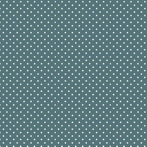 FQ0168 Spot On TEAL - Makower UK