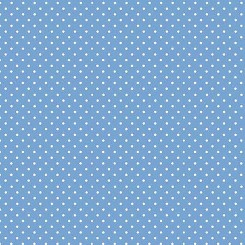 FQ0167 Spot On BABY BLUE - Makower UK