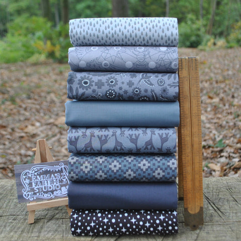The 'Neutrals' Fat Quarter Bundle - Spectrum Solids - Makower
