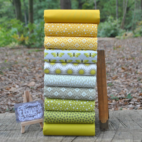 The 'Ellie' Fat Quarter Bundle - Alphabet Soup Girl - Riley Blake Designs