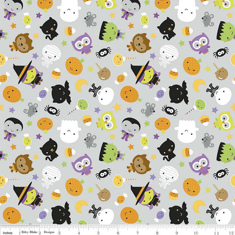 FQ0218 Halloween Basics - Riley Blake Designs