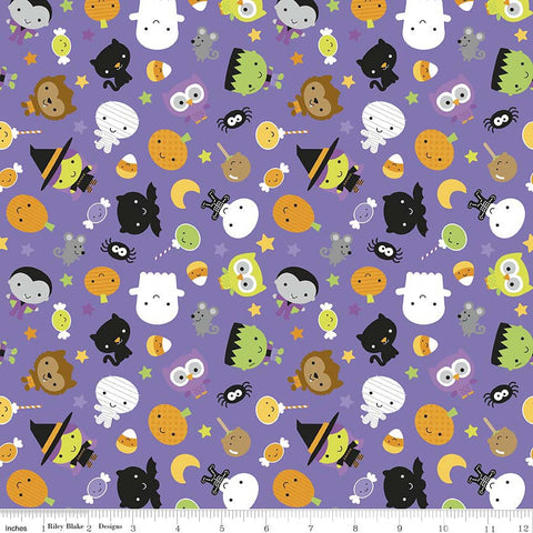 FQ0217 Halloween Basics - Riley Blake Designs