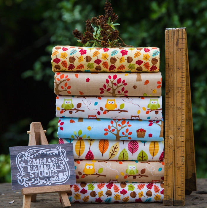 The 'John Arthur' Fat Quarter Bundle - Happy Harvest - Riley Blake Designs