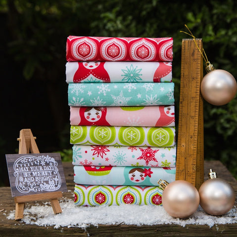 The 'Ellen' Fat Quarter Bundle – Spot On - Makower UK