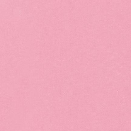 Kona Cotton Solid - Baby Pink