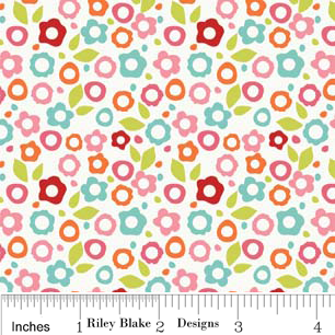 FQ0188 Alphabet Soup Girl - Zoe Pearn Designs - Riley Blake