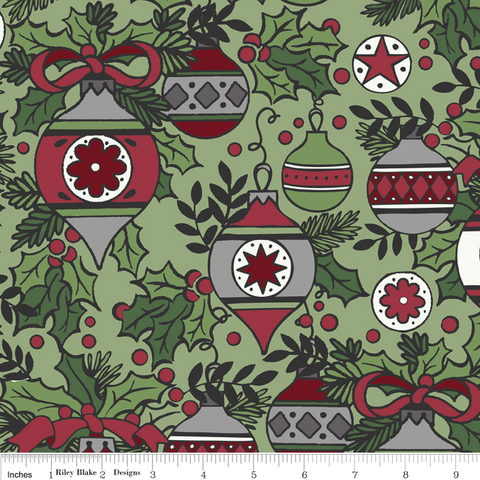 FQ0261 Merry Matryoshka - Carly Griffith - Riley Blake Designs - FLANNEL