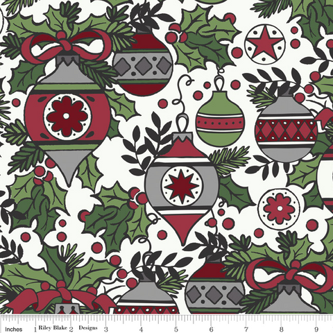 FQ0018 Colourful Christmas - My Mind's Eye - Riley Blake Designs