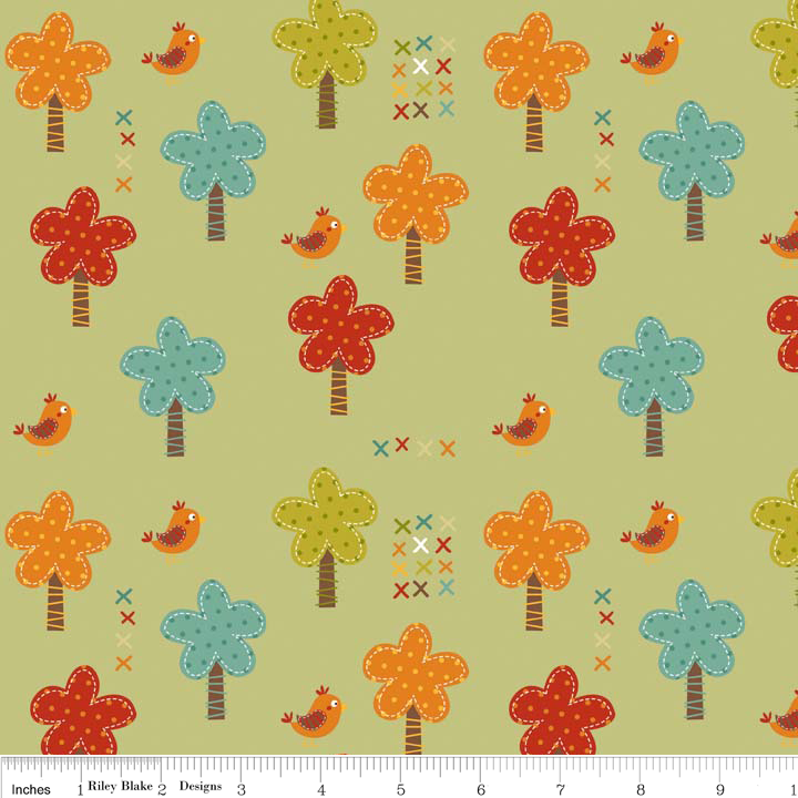 FQ0849 Giraffe Crossing - Riley Blake Designs