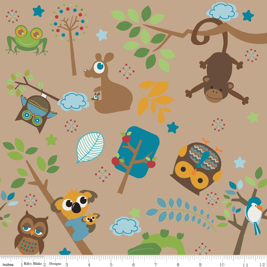 FQ0618 Hooty Hoot Returns - Doohikey Designs – Riley Blake