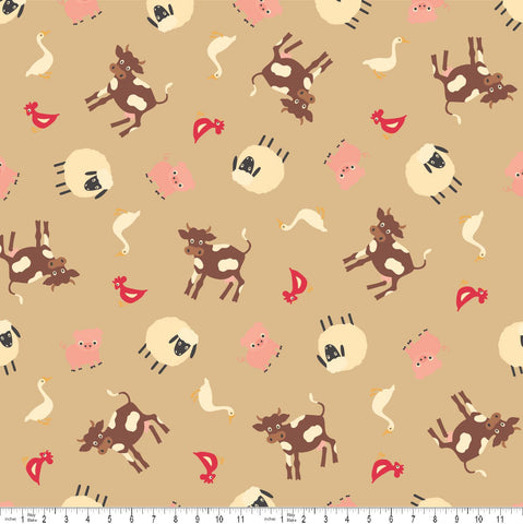The 'Stuart' Fat Quarter Bundle - Novelty Christmas - Makower