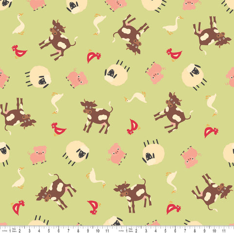 FQ0286 Holly Jolly - My Mind's Eye - Riley Blake Designs