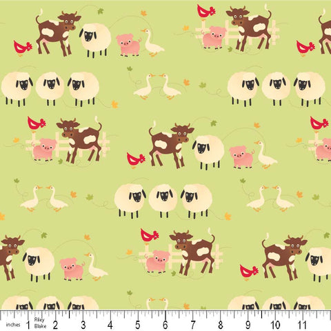 The 'Olivia' Fat Quarter Bundle - Santa Express - Riley Blake Designs