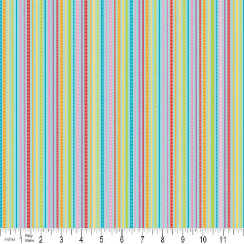 FQ0240 Feeling Groovy - Doodlebug Designs - Riley Blake - FLANNEL